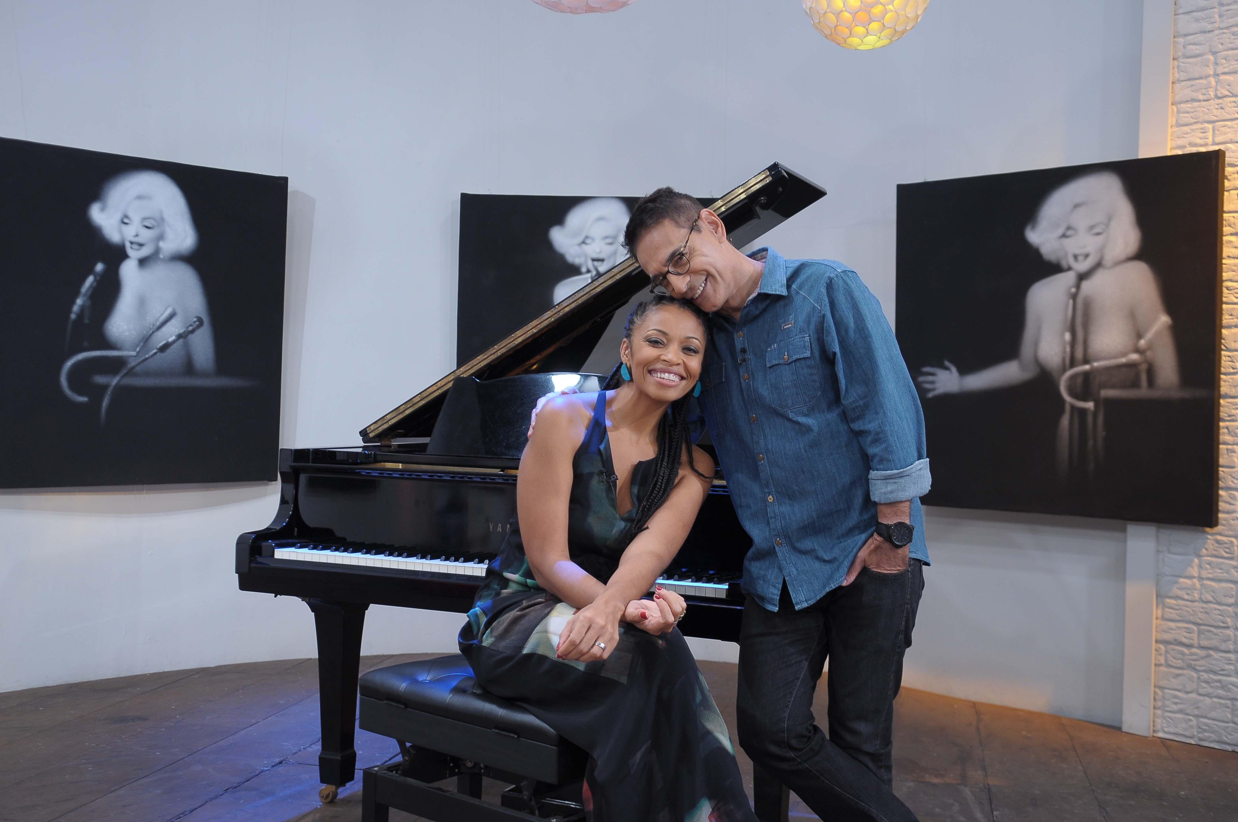 O cantor e a diretora trazem detalhes de seus lançamentos na edição que vai ao ar de maneira inédita, às 20h, na TV Cultura