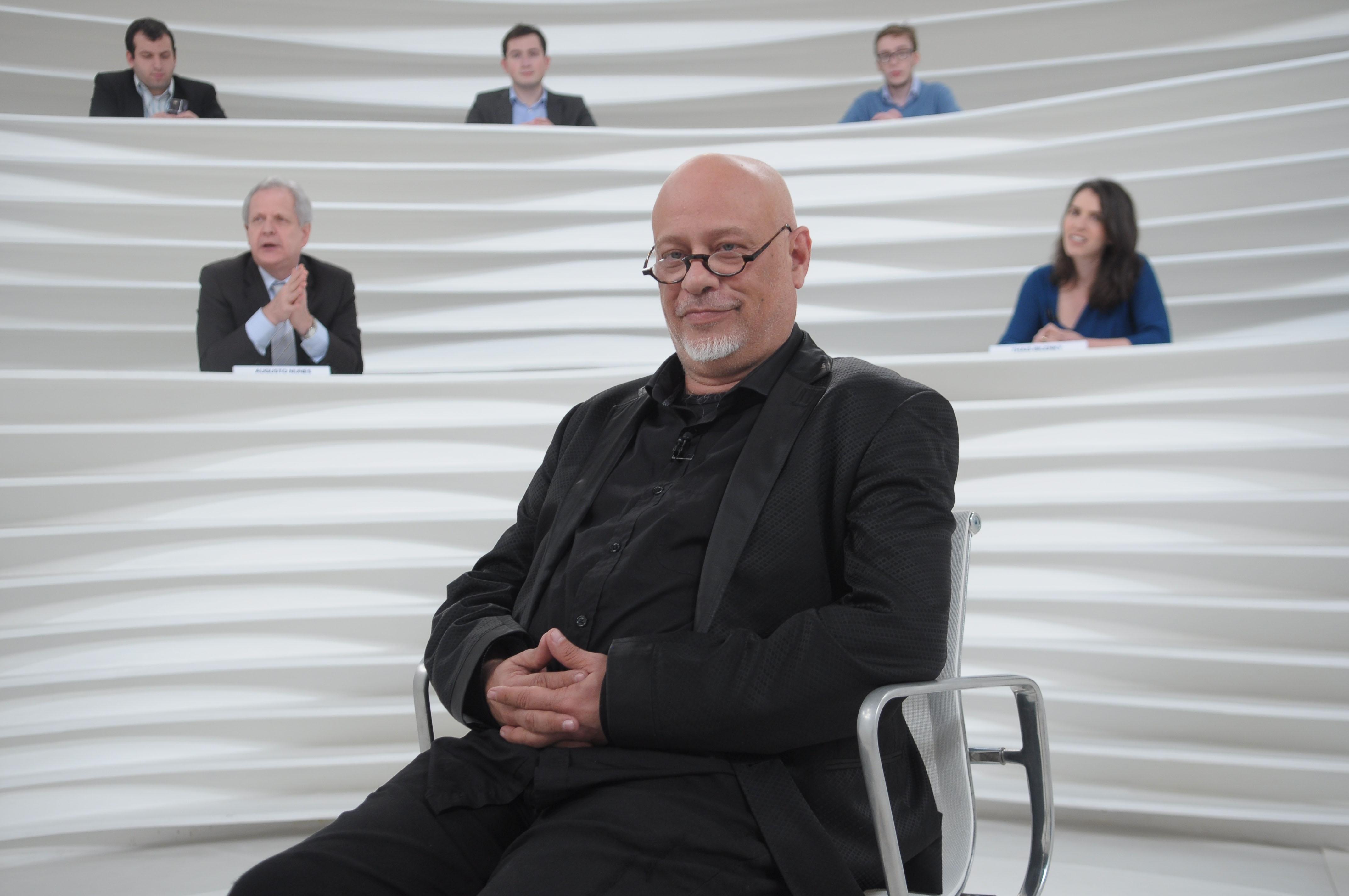 O filósofo e escritor fala sobre questões da atualidade, em programa inédito que vai ao ar na próxima segunda-feira, às 22h, na TV Cultura