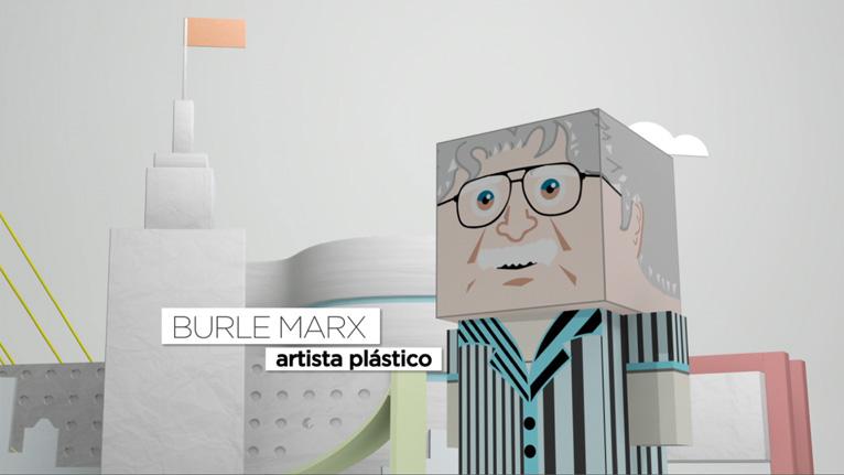 Imprimir Paper Toy do Burle Marx