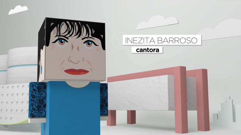 Imprimir Paper Toy da Inezita Barroso