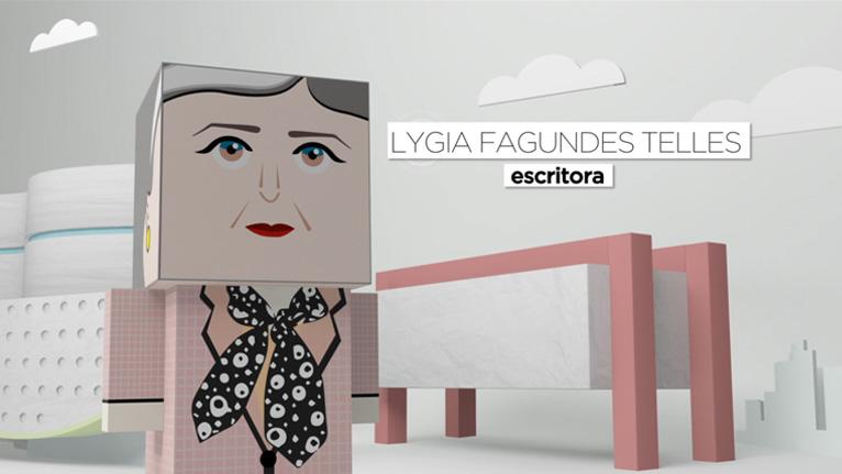 Imprimir Paper Toy Lygia Fagundes Telles