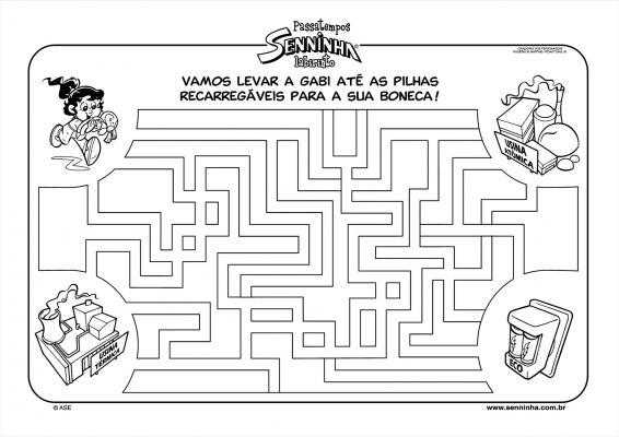 Labirinto com Senninha