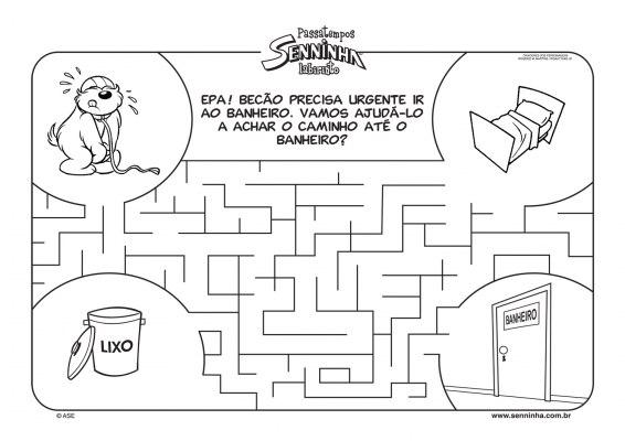 Labirinto com Senninha!